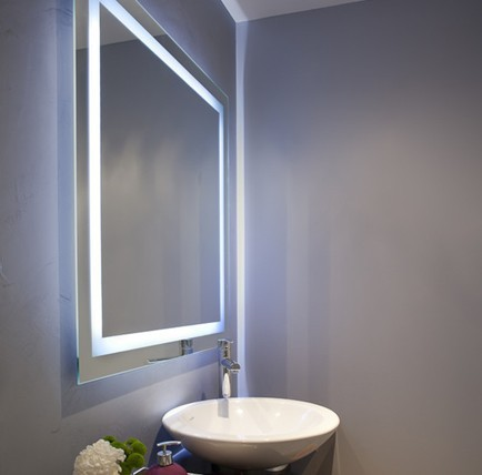 Best Value Fashion Hotel Square Wall Mounted Vanity Led ...