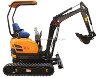 China 1.6ton mini excavator with hot sale