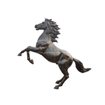Hot Selling sculpture products bronze jump horse statue