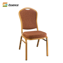 China Cheap Hotel Stackable Upholstered Aluminum Restaurant Banquet Chair