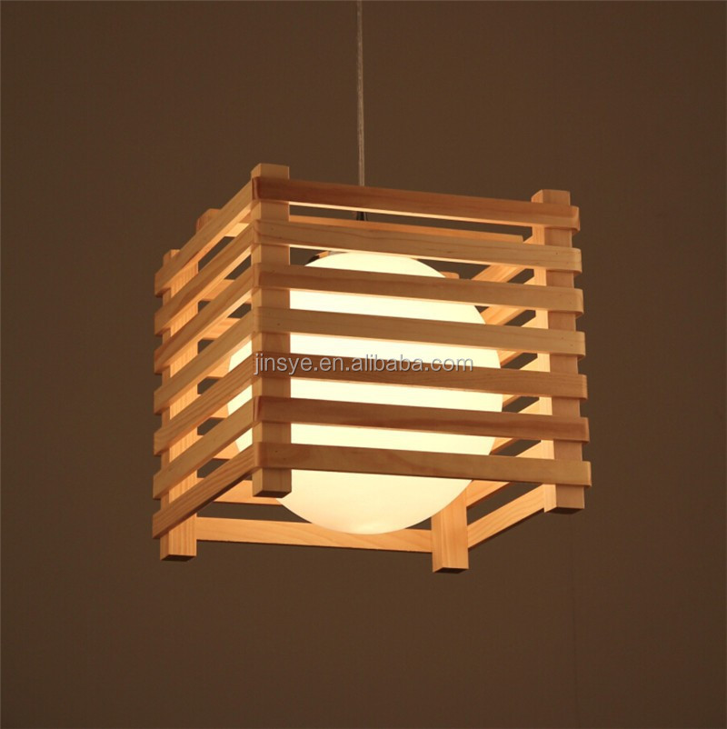 handmade best quality chandelier wood pendant lamp