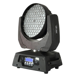 Guangzhouo 108x3w moving head wash zoom / 108 3w rgbw led moving head