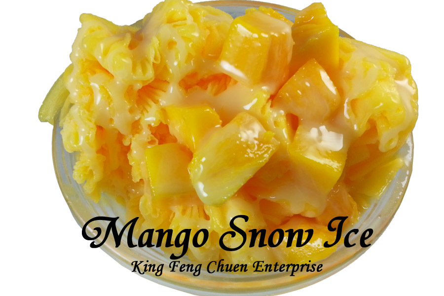 Taiwan best selling mango snow ice powder