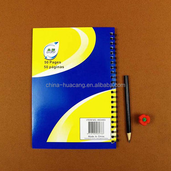 Free Sample Exercise Cheap Bulk Notebooks A5 Size Cheap Notebook Blank Paper