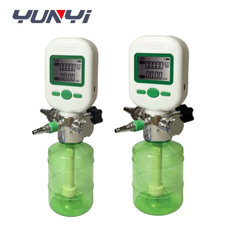 in line compressed air flow meter cfm MF5806 series oxygen flow meter