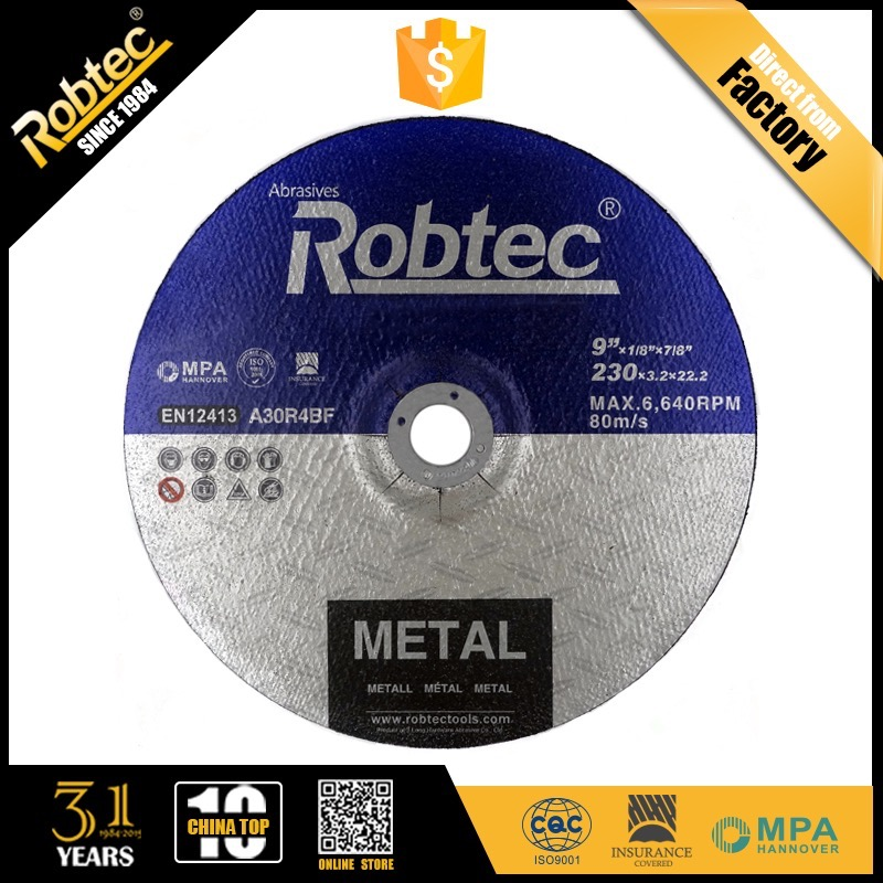 ROBTEC Metal / steel Cutting Cut Off wheel