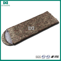 High quality travel military camo sleeping bag