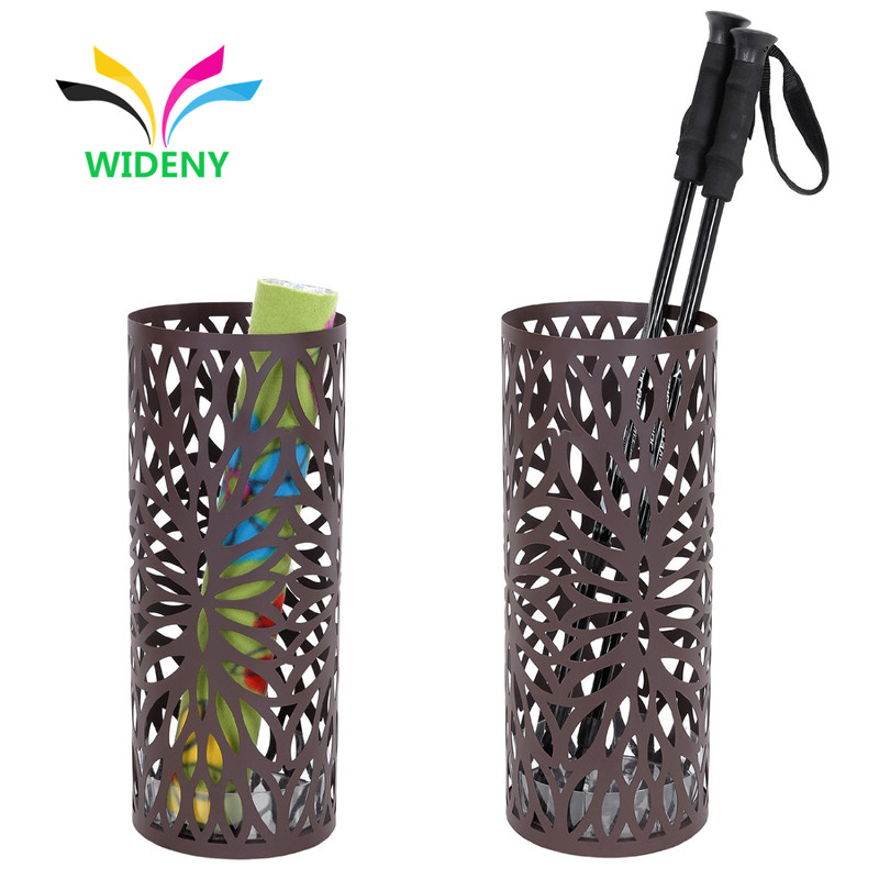 wholesale supply Garden office indoor cheap color metal iron mesh wire umbrella stand for display