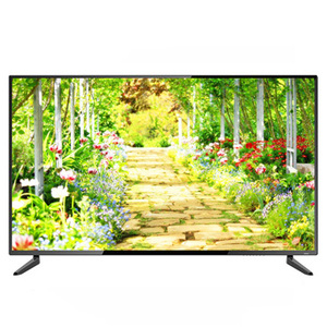 Cheapest 22 24 32 37 40 inch 3d LED TV with narrow frame and wifi smart