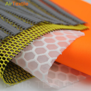 3d spacer air mesh textile fabric for gym suit