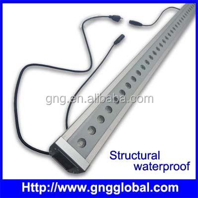 High power IP65 outdoor full color dmx512 led light led wall washer light