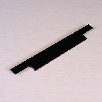 C29 Aluminum Furniture Cabinet Handles Profile,New Black Kitchen ...