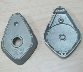 die casting aluminum flat casting for electric iron parts