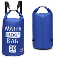 Accept Custom Folding camping Travel Swimming 2L-30L outdoor waterproof Portable dry bag with logo