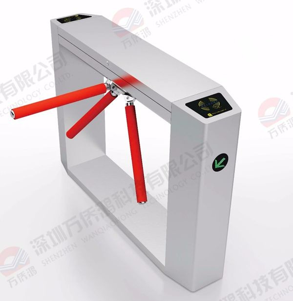 Fast Speed Pass Through Gate Wing Flap Turnstile Automatic