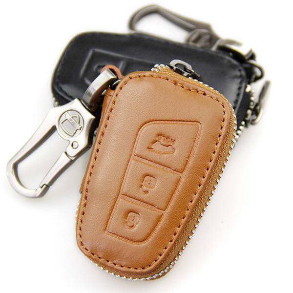 Free shipping Genuine leather key wallet  key cover car  key cases wallet bag  black/brown for ix35 ix45