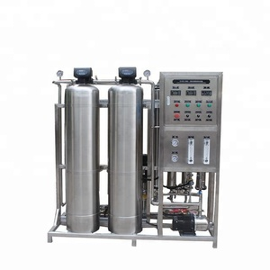 One Ton Per Hour Flow Mineral Water Plant By Reverse Osmosis System Hot Selling