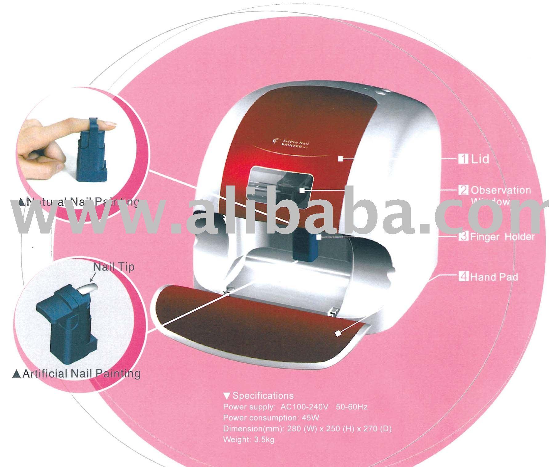 Artpro Nail Maker (printer) Model V7 - Buy Artpro Nail Maker Model ...