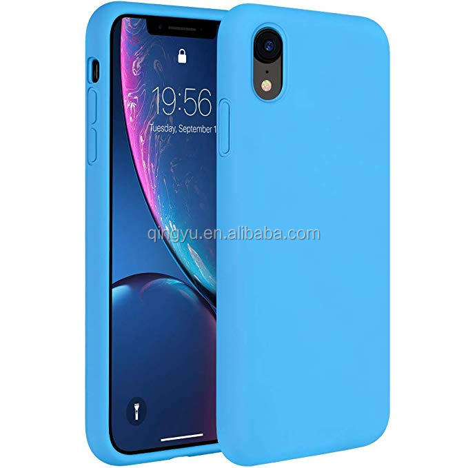 Liquid Silicone <strong>Case</strong> Compatible with iPhone XR 6.1 inch