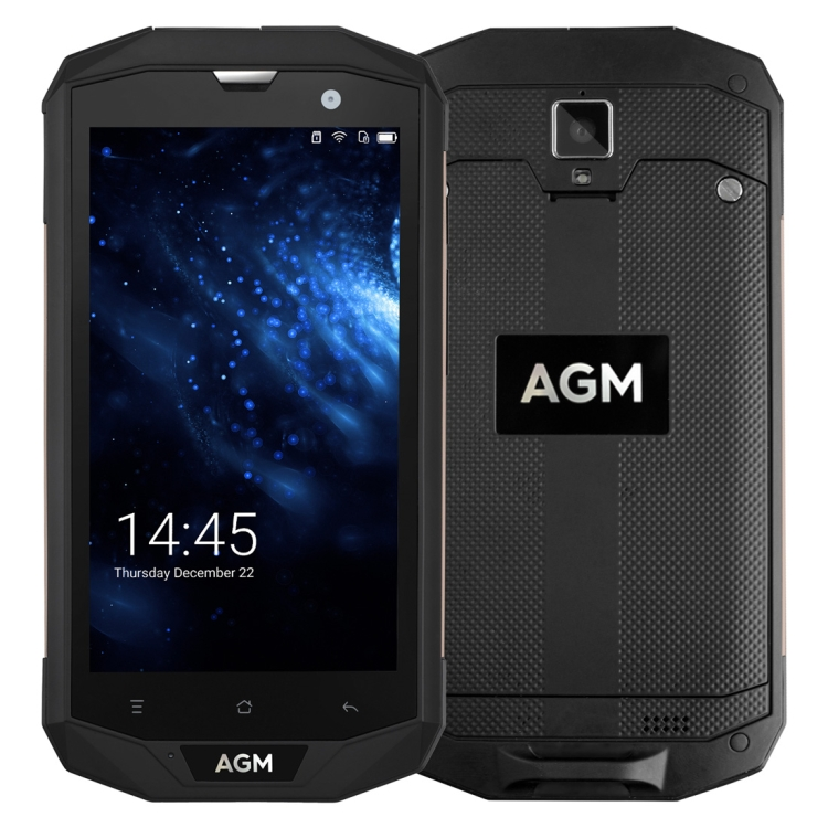 US Version AGM A8 Triple Proofing smartphone 3GB+32GB 5.0 inch Android 7.0 Qualcomm MSM8916 IP68 Waterproof 4G mobile phone фото