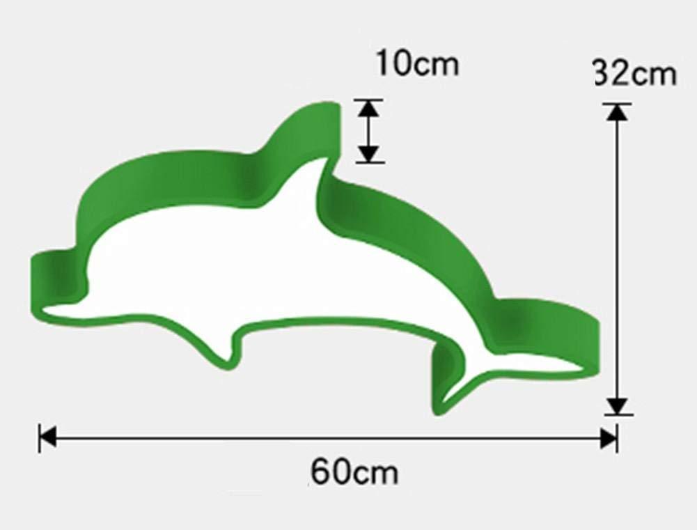 DGS Led Cartoon Creative Ceiling Light Children Modeling Dolphins Warm Atmosphere Bedroom Bedroom Kindergarten Chandeliers, 4