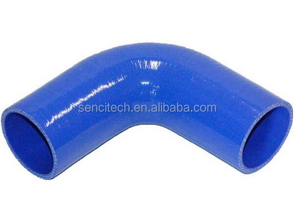 Hot sale ! 90 degree elbow silicone hose, rubber turbo charger hose for auto