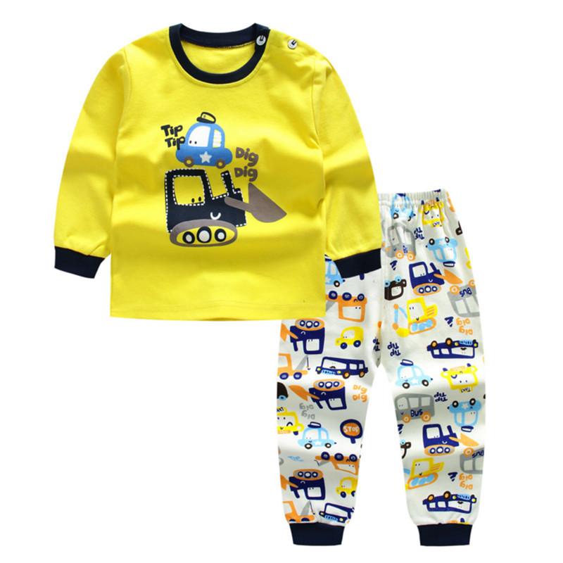 Nachthemd kinderschlafanzüge jungen mädchen großhandel gedruckt top und schlaf anzug sets Indonesien UK African anzüge pjs für kinder