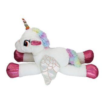 Soft Pp Cotton Plush White Unicorn Kids Doll Plush Unicorn Doll Toys