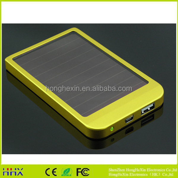 new arrival solar mobile phone charger solar power bank chargers portable solar charger