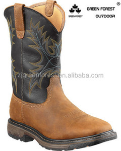 2018 Mens Workhog H2O Waterproof Steel Toe Western Work Boots Cowboy Boots