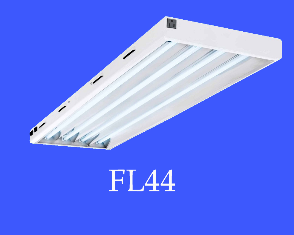 China Professional Manufacturer Best Quality T5 Ho Straight Line Fluorescent Lighting Fixture For Grow Light 4ft