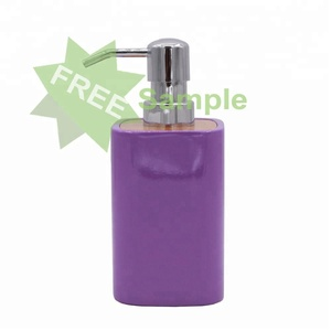 JD-BR114A, free sample, bamboo wood soap dispenser, liquid dispenser for bathroom