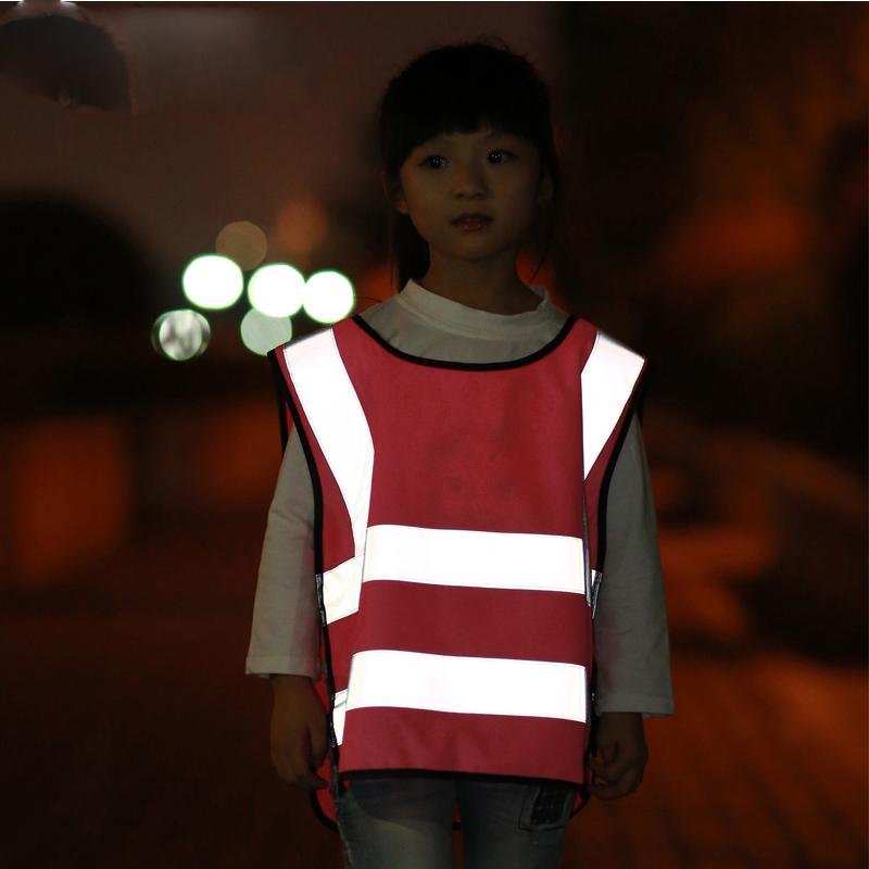 Дети дети жилет безопасности светоотражающие полосы защитная одежда автомобиля - стайлинг