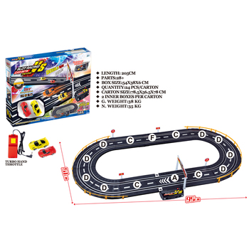 Electric Toy Cars 205 Length Race Track Toys For Kids