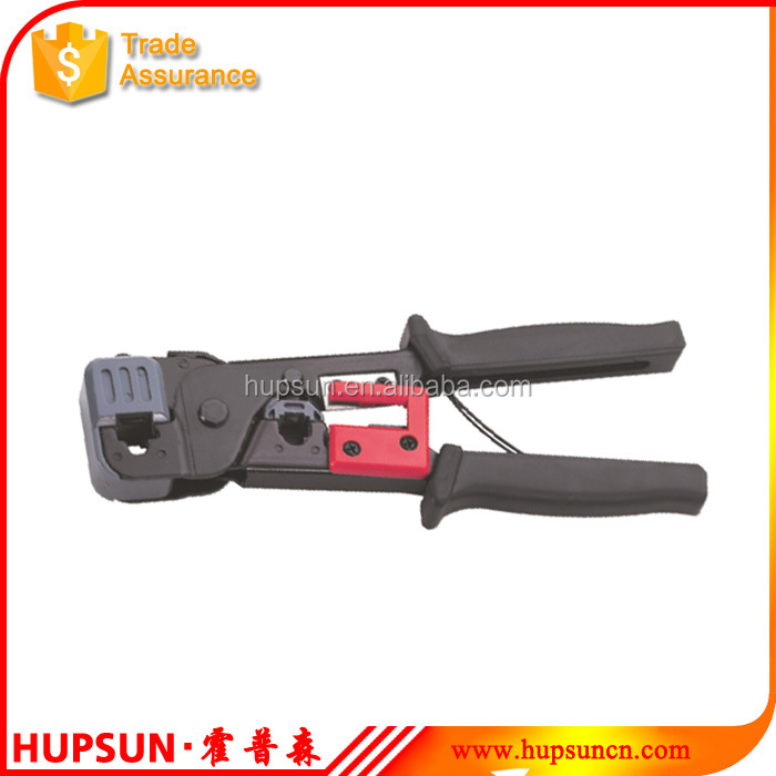 HT-86 crimping RJ11/12 6p 9.65mm FJ45 8p 11.68mm manual telecom network crimping tool
