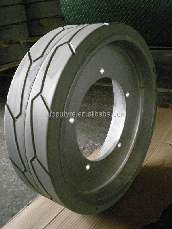 High Quality TOPOWER Non marking Scissor lift tires