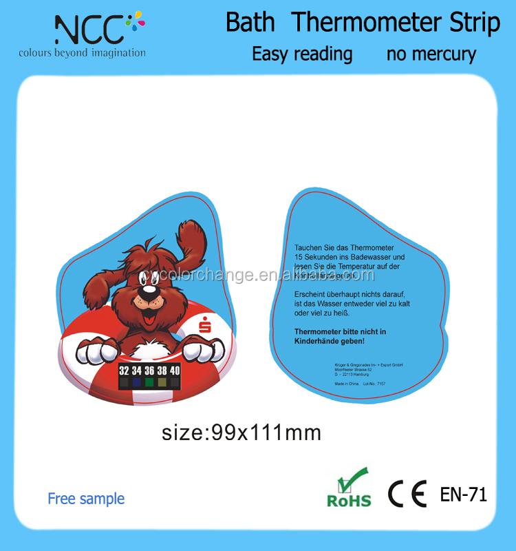 Bain Thermomètre-Carte plastique