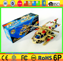 Plastic battery operated toys electric plane with music for sale