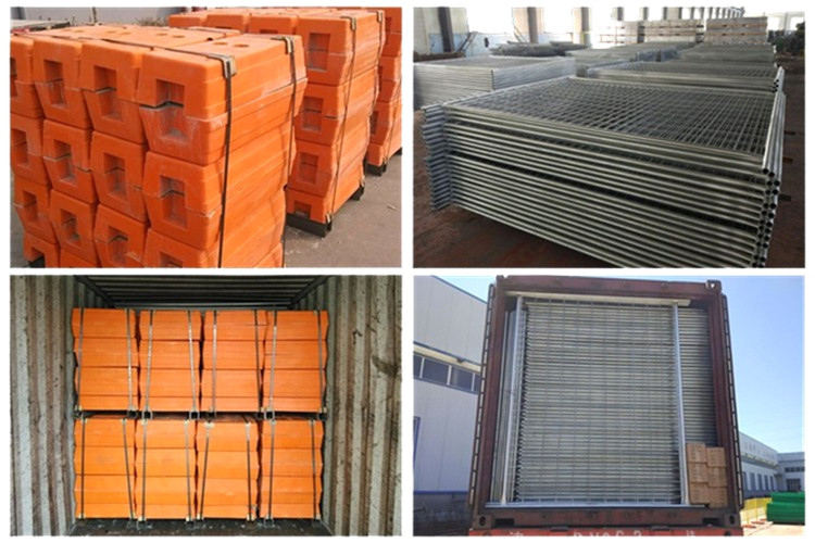 Galvanized Construction Australia Used Removable Safety Temporary Fence