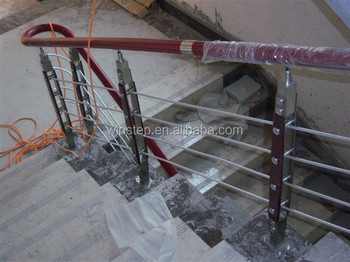 Economic Ornamental Stainless Steel Stair Parts For Stairway