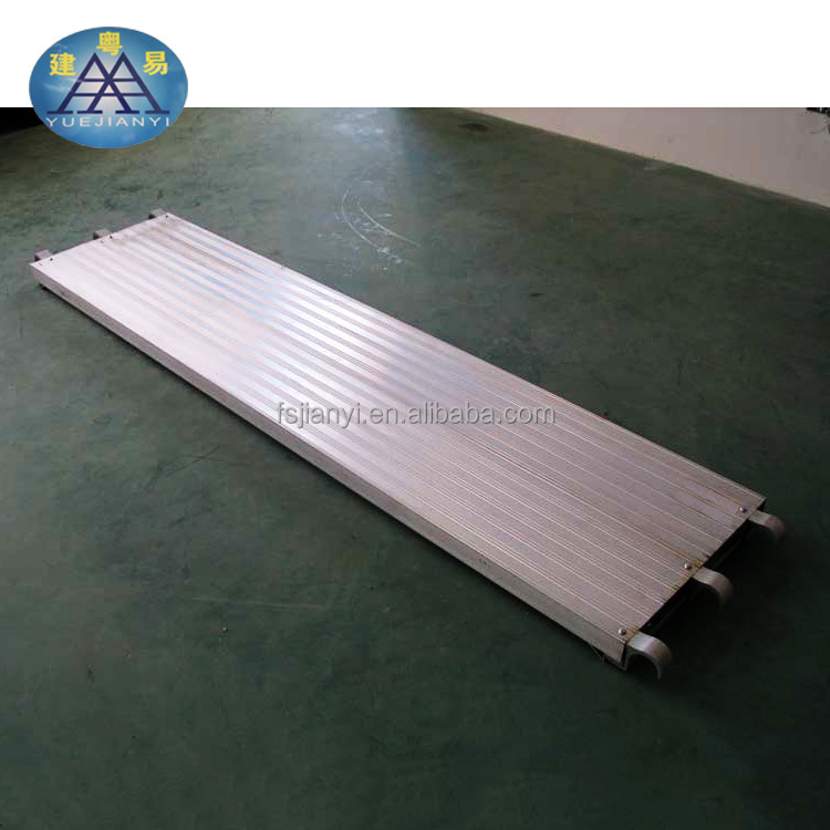 High quality Galvanized Walk Board Catwalk aluminium metal scaffold plank