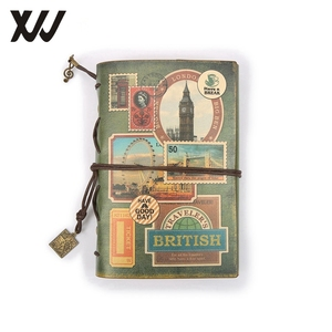 A6 traveler's notebook leather journal vintage handmade cute stationery