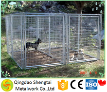 galvanized big outdoor dog cage