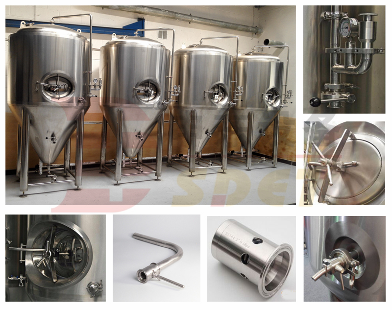 Microbrewery 10bbl beer brewing equipment
