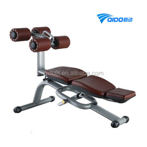 Gym Machine Workouts Abdominal Gym Machine, Adjustable Abdominal Bench