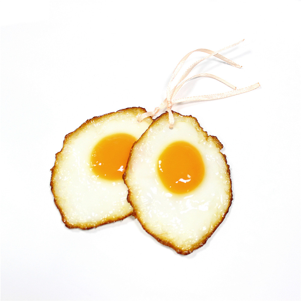 Novelty Decoration Imitation Food Fake fried egg 3D Bookmark