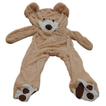 Giant Teddy Bear Cover 200cm Brown Outer Bear Shell Plush Teddy Bear Skin