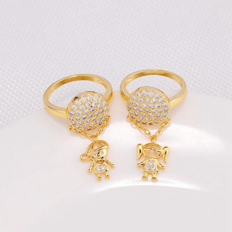 051851dc8f07 Venta al por mayor anillos de oro para niños-Compre online los ...