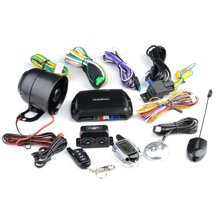 Car Security Alarm System Magicar M103as With Lcd Remote - Buy Car ...