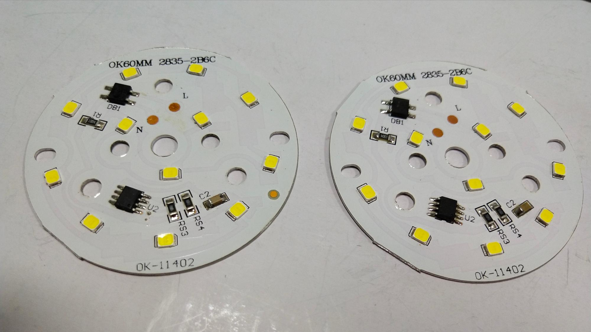 Customized 7W 9W 12W 60mm LED Electronic printed PCB Circuit board